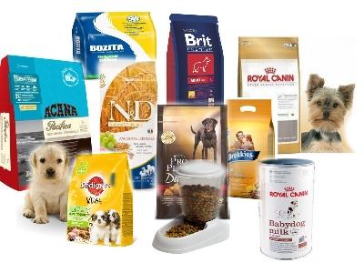 Классификация сухих кормов для собак